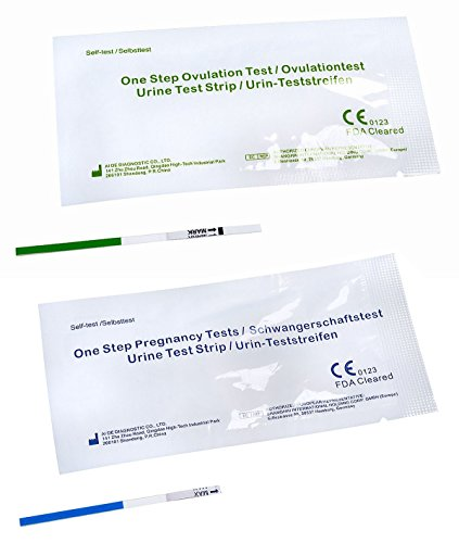 20 Schwangerschaftstest (30 x One+Step Ovulationstest 20 mIu/ml + 5 x One+Step Schwangerschaftstests 10 mIu/ml)