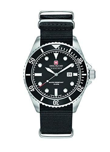 Swiss Military Herren-Armbanduhr Analog Quarz 6-4279.04.007.07
