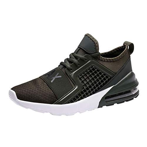 ♥ Loveso♥ Junge Manner Herren Turnschuhe Fitness Trekking Laufschuhe Straßenlaufschuhe Sportschuhe Air Atmungsaktiv Leichte Schuhe Freizeit Running ()
