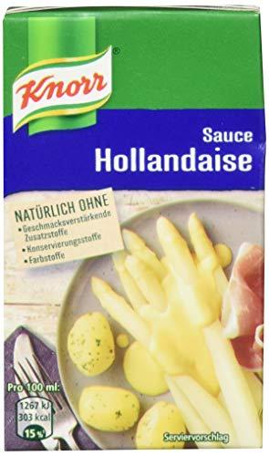 Knorr Sauce Hollandaise 250ml, 4er Pack (4 x 250 ml)