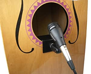 new cajon cahon drum mic kit microphone clamp computers accessories. Black Bedroom Furniture Sets. Home Design Ideas