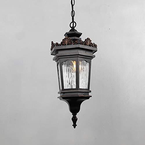 Mpotow Nordic Clásico Retro Estilo Europeo Luces Colgantes Araña Escultura Aluminio Vidrio...