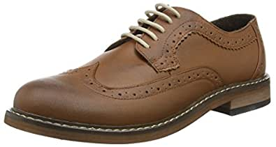 New Look The Brogue, Richelieu homme - Marron (Tan 18) - 44 EU (Taille Fabricant : 10 UK)