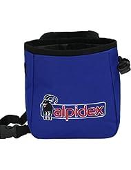 Bolsa de magnesia HIMALAYA con cinturón incluido de Alpidex, Color::Blue Night