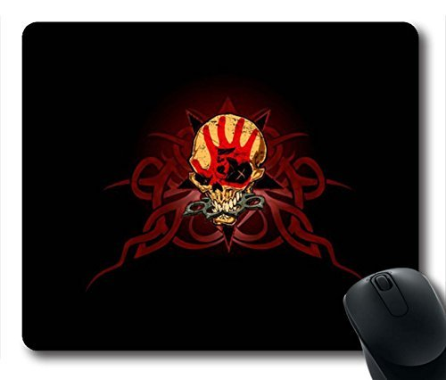 Gaming Mouse Pad, Five Finger Death Punch Personalized MousePads Natural Eco Rubber Durable Design Computer Desk Stationery Accessories Gifts For Mouse Pads (Eco Punch)