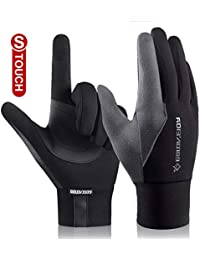 4490a87a2798 VENI MASEE Mens Running Gloves Anti-Slip Touch Screen Sports Gloves
