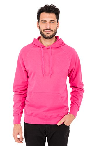 Fruit of the Loom Herren Kapuzenpullover Lightweight Hooded Sweat Pink (Fuchsia 57)
