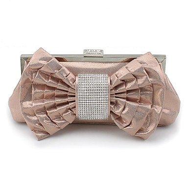pwne L. In West Frauen'S Fashion Silk Blume Abendessen Tasche Champagne