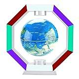 Globo flotante magnetico con luces LED globo levitante que gira con mapamundi en 6' para decoraciòn en Oficina y casa para los niños regalo