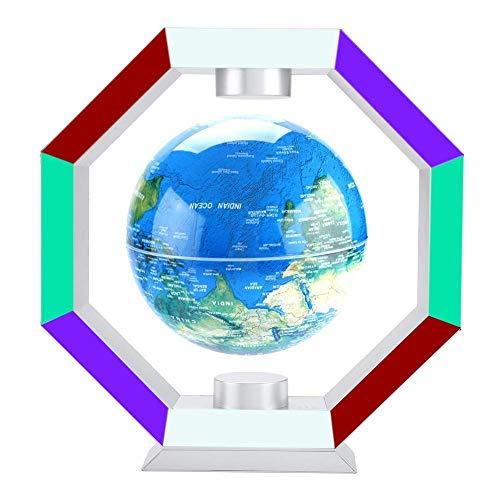 6 Zoll (15,24 cm) Globus Beleuchtet, Schwebender Gobus Magnetische Levitation Kugeln interaktiver globus für Weihnachtsgeschenke, Business-Geschenke, Geburtstag Geschenke, Wohnkultur Büro Dekoration