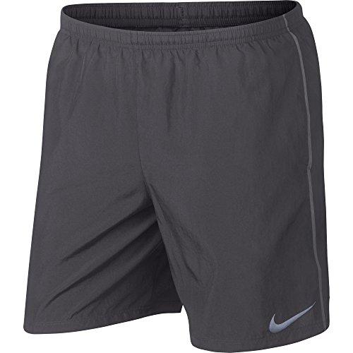 Nike Herren Sport Shorts M Nk Run 7ins,grau (gunsmoke/atmosphere grey), M (Nike-7 Shorts Männer Inch)