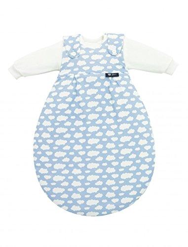Alvi Schlafsack Baby-Mäxchen Single-Jersey blau Größe 74 / 80