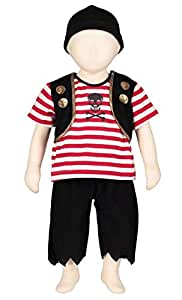 Dress Up By Design Baby Buccaneer Costume - Baby Buccaneer - Size - 3-6 Months