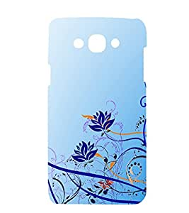 printtech Floral Abstract Back Case Cover for Samsung Galaxy A7 (2015 EDITION ) / Samsung Galaxy A7 A700F (2015 EDITION )