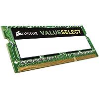 Corsair CMSO4GX3M1C1600C11 Value Select 4GB (1x4GB) DDR3L 1600Mhz CL11 Mainstream SODIMM Notebook Memory Module -Green