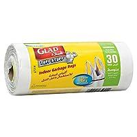 Glad Garbage Medium White Handle Bags, 35 L