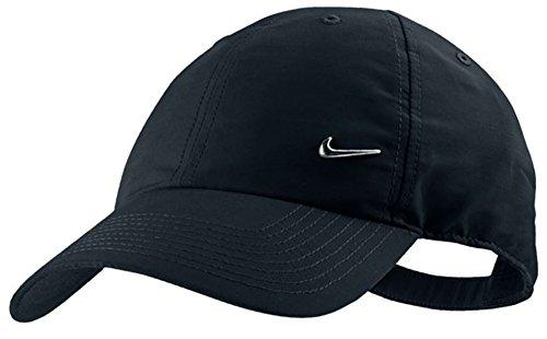 véritable de la marque Nike Petit Logo Swoosh en métal de baseball casquette de Golf, noir, N