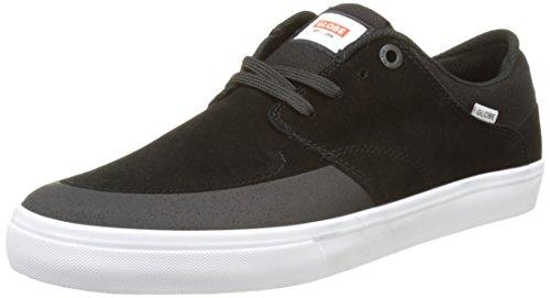 Globe Herren Chase Skateboardschuhe Schwarz (Black/White)