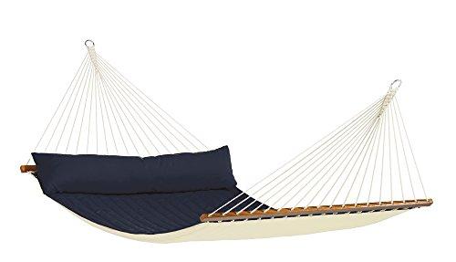 LA SIESTA - North American Style Stabhängematte Kingsize ALABAMA navy blue