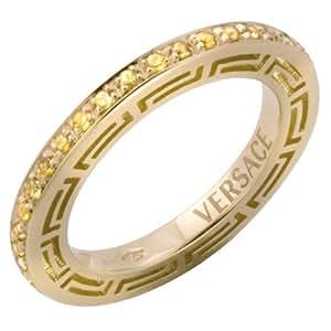 Versace Damen-Ring V-Profile FHB1211A008: Amazon.de: Schmuck
