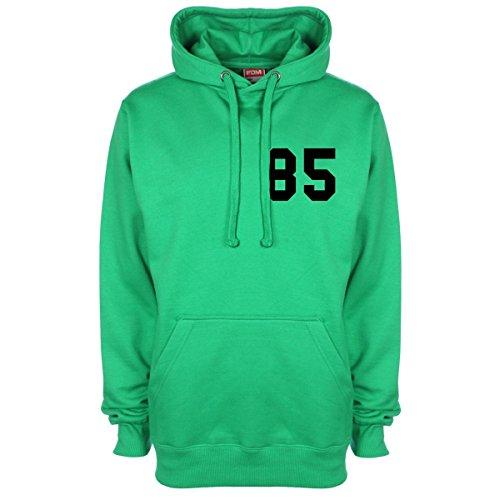 J. Cole Date Of Birth Kapuzenpullover - Grün - 5/6 Jahre J Cole Kleidung