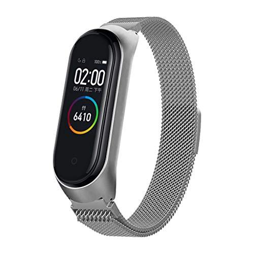 Smartwatch Ersatzarmbänder for Xiaomi Mi Band 4 Armband Strap, Damen Herren Ersatz Erweiterbar Armband Gift - Bänder Herren-erweiterbar-uhr