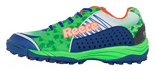 Reece wave -875000–chaussure de hockey Bleu/vert 32