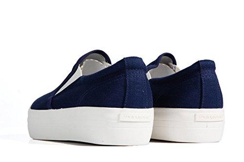 Vagabond Keira Slip on Canvas Blue - Sneaker basica in tela blu senza lacci Blue