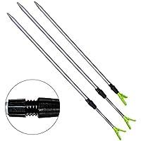 """Soporte para cañas de pescar, Woopower 24.41""""-39.37–Soporte para caña de pesca elástico Fish Pole soporte soporte–Resto Apoyo Tackle accesorio de"""