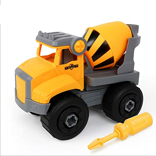 Kikioo Zerlegen Auto Spielzeug Montieren Demontieren Baufahrzeug Betonmischer Lkw Mit Schraubenschlüssel Und Schraubendreher Für Kinder Ideal Pädagogisches Spielzeug Kleinkinder, Jungen Mädchen Im Alt - Toy Story 4k