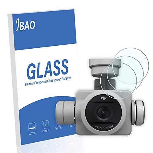 Jbao Direct Displayschutzfolie, kompatibel mit DJI Phantom 4 Pro V2.0, Kratzfest, Anti-Fingerabdruck, Ultra-klar, gehärtetes Glas für DJI Phantom 4 Pro V2.0, 3 Stück