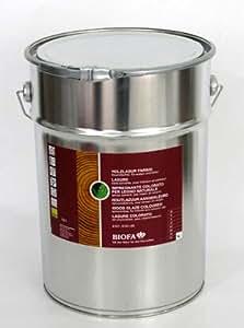 Biofa sans solvant-lasure pour bois bordeaux 10 l