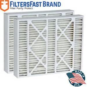 Actual Size: 15-3//8 x 21-7//8 x 5-1//4 FiltersFast Compatible Replacement for York P102-1620 MERV 11 Air Filter 2-Pack-16x22x5