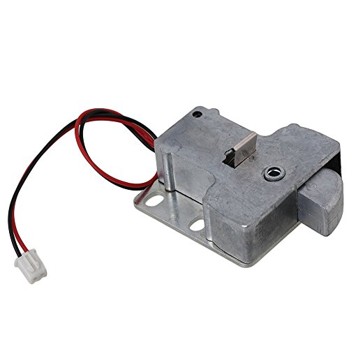 cnbrt 12V High Power Schranktür Elektroschloss Montage Latch Magnetventil für Schublade Schrank Lock (12V) -