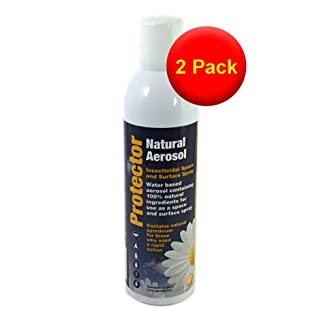 VALUE PACK 2 Fortefog Natural Protector Aerosol 400ml - Rapid Action Insecticidal Spray
