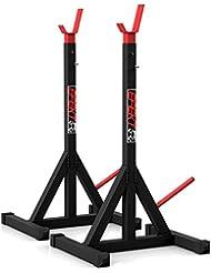 Professionale - Supporto per 340 kg.Manubri per bilanciere - Pressa supporto.