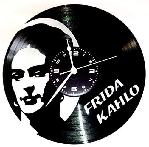 Reloj de Vinilo Vintage Hecho a Mano Karma instantáneo – Frida Kahlo
