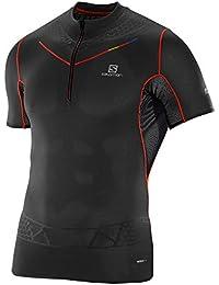Salomon S-Lab Exo T-Shirt zippé Homme