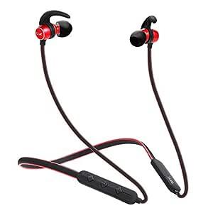 boAt Rockerz 255 Sports in-Ear Bluetooth Neckband Earphone with Mic(Raging Red)