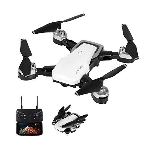 goolsky hjhrc hj28 rc drone con telecamera 1080p wifi fpv per fotografia aerea altitude hold gesto foto / video pieghevole rc quadcopter