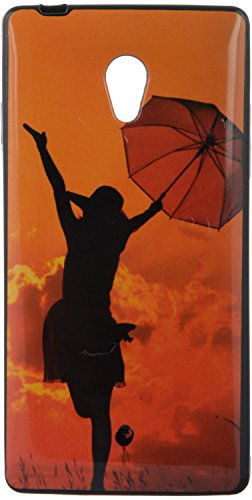 iCandy UV Printed Matte Finish Soft Back cover for Micromax Canvas Fire 4G Q411 - UMGIRL  available at amazon for Rs.99