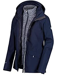 Michaelax-Fashion-Trade Regatta - Damen 3-in-1 Funktionsjacke, Wasserdicht  und Atmungsaktiv, Calyn II… 431e3db3ce
