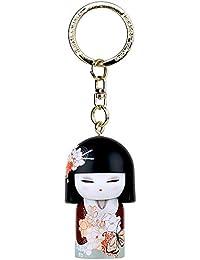 Porte clé Kokeshi Kimmidoll 5cm Kayo - beauté