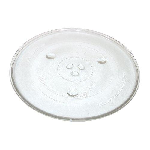 Qualtex Plato giratorio de cristal para microondas universal