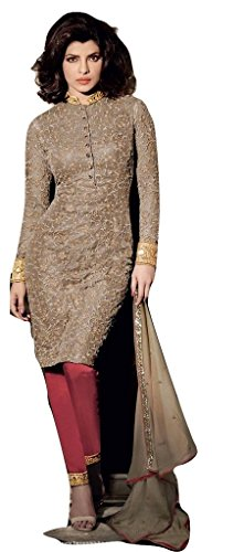 Jay Sarees Priyanka Chopra Stylish Traditional Salwar Suit Unstitched - Jcpc3060d5125