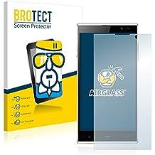 BROTECT AirGlass Protector Pantalla Cristal Flexible Transparente para iNew V3 Protector Cristal Vidrio - Extra-Duro, Ultra-Ligero, Ultra-Claro