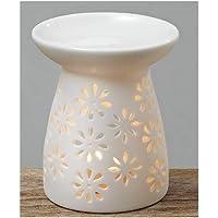 Duftstövchen Aromalampe Duftlampe Keramik weiß preisvergleich bei billige-tabletten.eu