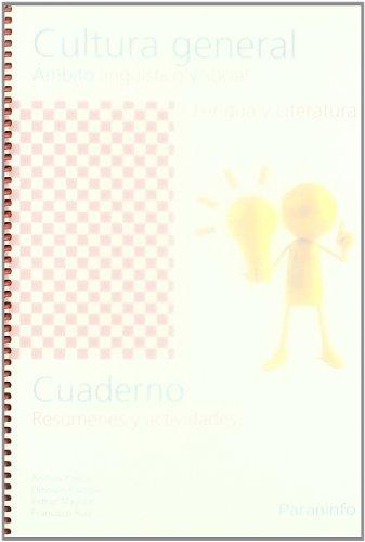 Cuaderno de trabajo - Cultura general. Ámbito lingüístico y social