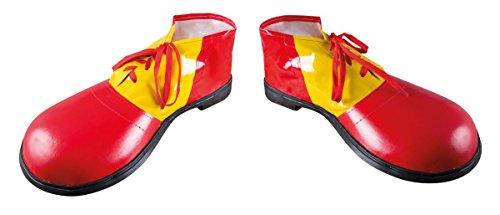 69--Schuhe Clown Riesen Vinyl-Die Paar-Größe 36cm ()