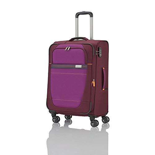 travelite-valise-trolley-meteor-avec-4-roues-taille-m-rouge-koffer-66-cm-69-liters-rot-rouge